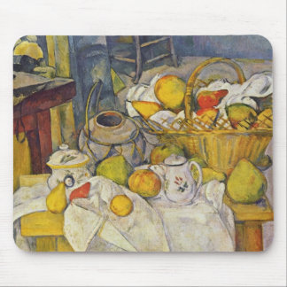 Still Life with Fruit Basket Mouse Pad