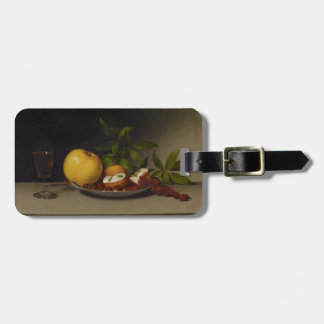 Still Life with Fruit, Cakes and Wine, 1821 Luggage Tag