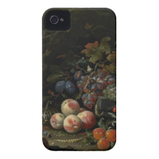 Still Life with Fruit, Foliage and Insects, c.1669 iPhone 4 Covers