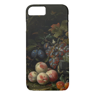 Still Life with Fruit, Foliage and Insects, c.1669 iPhone 8/7 Case