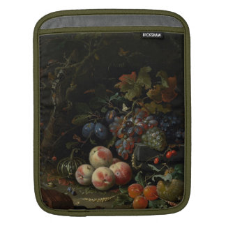 Still Life with Fruit, Foliage and Insects, c.1669 Sleeves For iPads