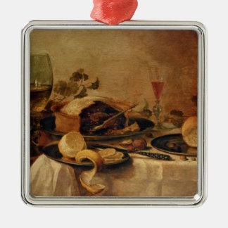 Still Life with Fruit Pie, 1635 Christmas Ornament