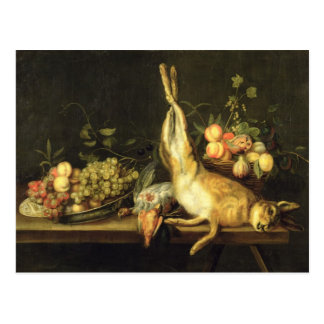 Still Life with Game and Fruit Postcard
