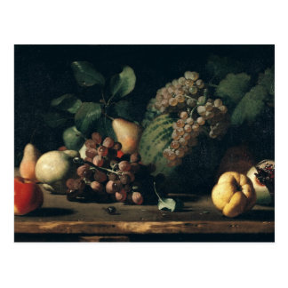 Still Life with Grapes and Pomegranate Postcard