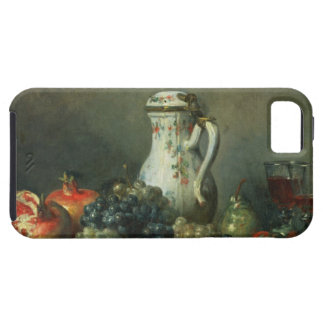 Still Life with Grapes and Pomegranates, 1763 (oil iPhone 5 Case