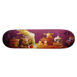 Still Life With Heart - Street Art Sk8 Deck Skateboards