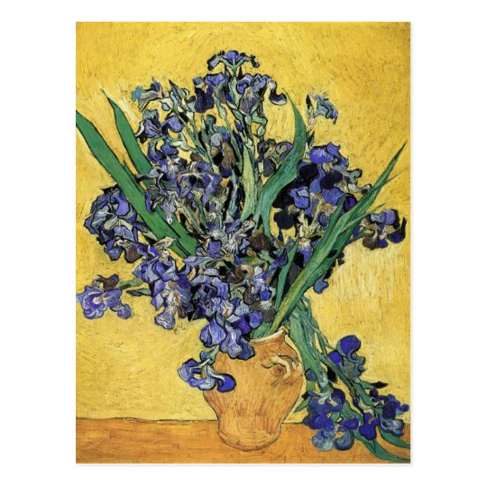 Still Life with Iris by Vincent Van Gogh