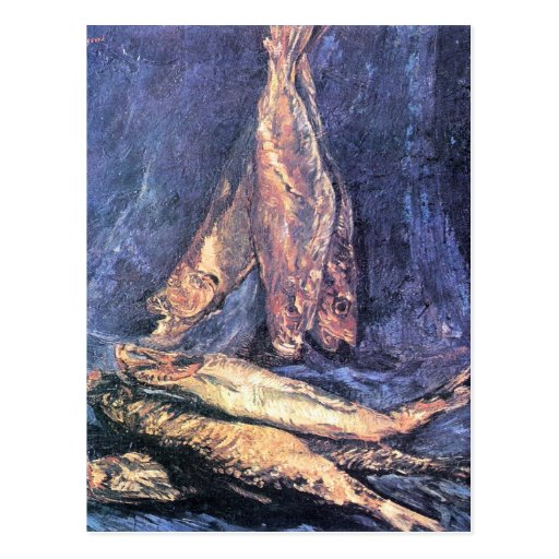 Still Life with kipper by Vincent van Gogh Postcards