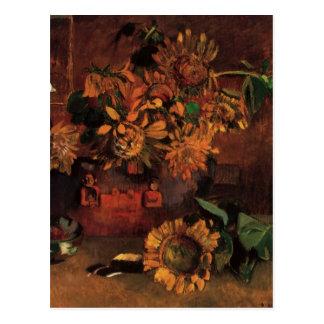 Still Life with L'Esperance (Hope) by Paul Gauguin Postcard