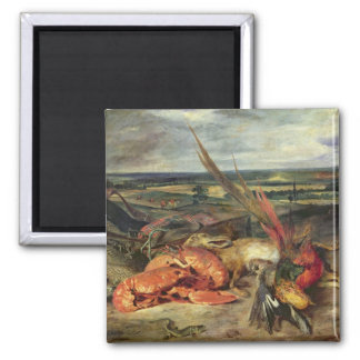 Still Life with Lobsters, 1826-27 Magnet