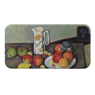 Still life with milk jug and fruit, c.1886-90 (oil iPhone 4 case