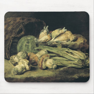 Still Life with Mushrooms Mouse Pad
