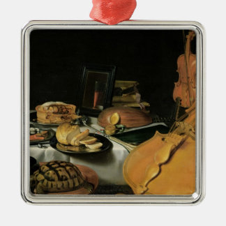Still Life with Musical Instruments, 1623 Christmas Ornament
