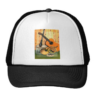 Still Life with Musical Instruments Cap