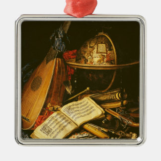 Still Life with Musical Instruments Christmas Ornament