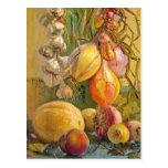 Still Life With Onions - Antonio Sicurezza Post Cards