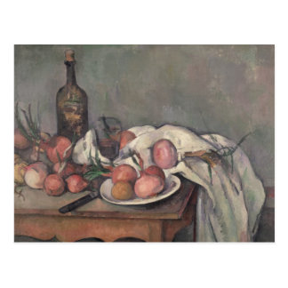 Still Life with Onions, c.1895 Postcard