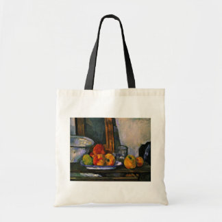 Still Life With Open Drawer By Paul Cézanne Canvas Bag