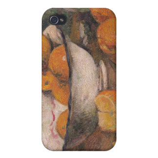 Still life with Oranges, 1881 iPhone 4 Case