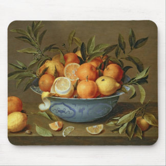 Still Life with Oranges and Lemons Mouse Mat