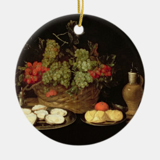 Still Life with Oysters Christmas Ornament
