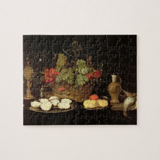 Still Life with Oysters Jigsaw Puzzle