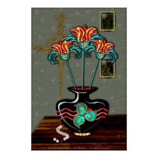 Still Life With Pearls Fine Art Poster