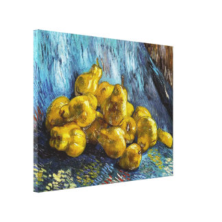 Still Life with Pears Van Gogh painting Canvas Print