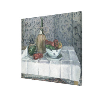 Still Life with Peppers, 1899 (oil on canvas) Stretched Canvas Prints