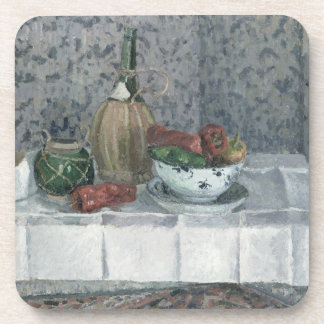 Still Life with Peppers, 1899 (oil on canvas) Coaster