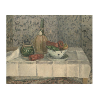 Still Life with Peppers, 1899 (oil on canvas) Wood Canvases