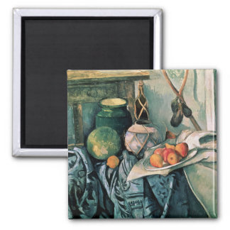 Still Life with Pitcher and Aubergines Magnet