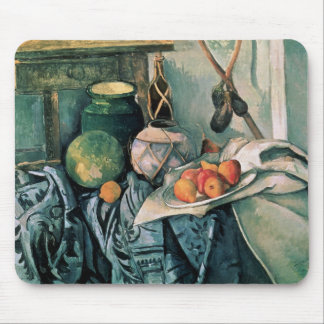 Still Life with Pitcher and Aubergines Mouse Mat
