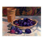 Still Life with Plums by Théo van Rysselberghe Postcards