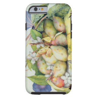 Still life with Plums, Walnuts and Jasmine (w/c on Tough iPhone 6 Case