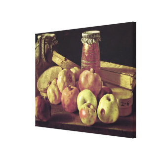 Still Life with Pomegranates Canvas Print
