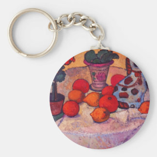 Still life with porcelain dog by Modersohn Keychains