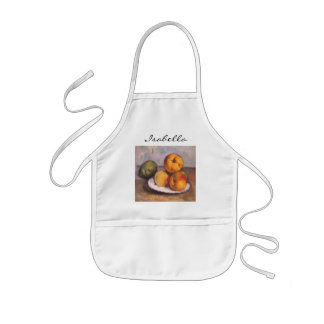 Still Life with Quince, Apples, Pears by Cezanne Kids' Apron