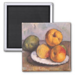 Still Life with Quince, Apples, Pears by Cezanne Refrigerator Magnets
