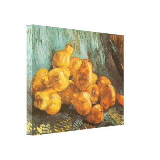 Still Life with Quince Pears by Vincent van Gogh Canvas Prints