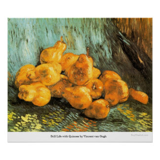 Still Life with Quinces by Vincent van Gogh Poster