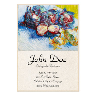 Still Life with Red Cabbage and Onions Van Gogh Pack Of Chubby Business Cards