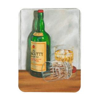 Still Life with Scotch by Jennifer Goldberger Vinyl Magnet