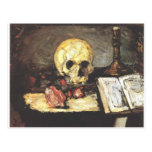 Still Life with Skull, Candle, and Book. Post Cards