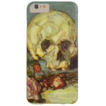Still Life with Skull, Candle, Book By Cezanne Barely There iPhone 6 Plus Case