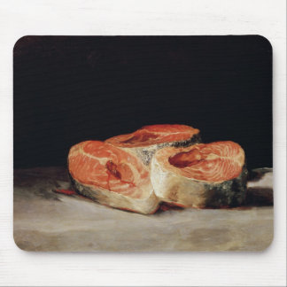 Still Life with Slices of Salmon, 1808-12 Mouse Mat