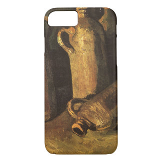 Still Life with Stone Bottles by Vincent van Gogh iPhone 7 Case