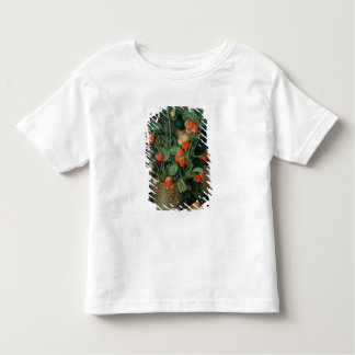 Still life with strawberries t-shirts