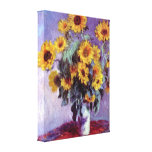 Still Life with Sunflowers by Claude Monet Canvas Prints