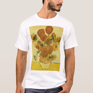 Still Life With Sunflowers By Vincent Van Gogh T-Shirt
